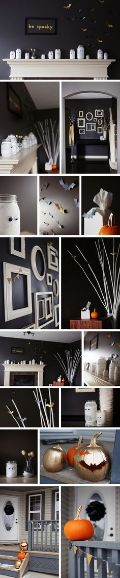 Modern Halloween Decor mid-century modern halloween home decor - 36 ideas for your home