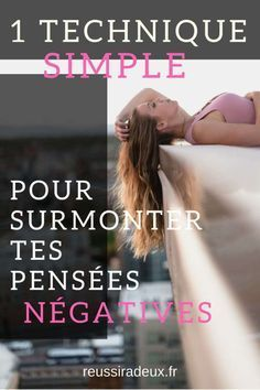1 technique simple pour surmonter tes pensées négatives Psychology Programs, Burn Out, Leadership Roles, Spiritual Wisdom, Positive Attitude, Vie Positive, Positive Vibes, Yoga, Motivation