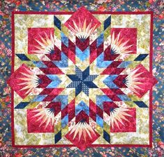 Summer Solstice, Quiltworx.com, Made by CI Connie Lange