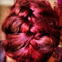 my hair in plait
