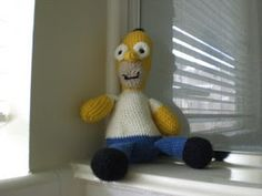 2000 Free Amigurumi Patterns: Homer Simpson