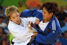 DAY 1:  Women's Judo - Jeong Boyeong of Korea vs Ngoc Tu Van of Vietnam