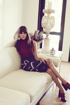 Exclusive: Meet the New Nina Dobrev via @WhoWhatWearUK