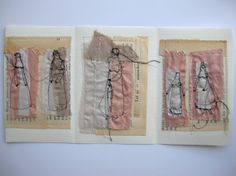 let us remember  mixed media embroidery collage  by cathycullis, £49.00