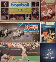 Baseball Games, Sports Games, Gaming Computer, Sports Illustrated, Board Games, Racing, Tabletop, Superstar, Kids