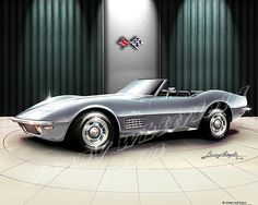 1970 CORVETTE 427 STING RAY ROADSTER
