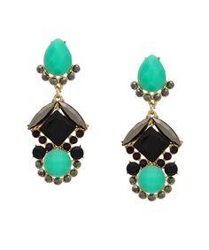 Eastern Glamour Earrings - Mint #shoplately