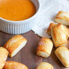 Homemade Pretzel Bites. Made them and love them!