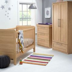 Merveilleux Mamas And Papas Rialto Bedroom Package In Oak. Nursery Furniture SetsBaby  FurnitureNursery ...