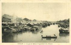 Cholon - Le quai de Mytho et l'appontement