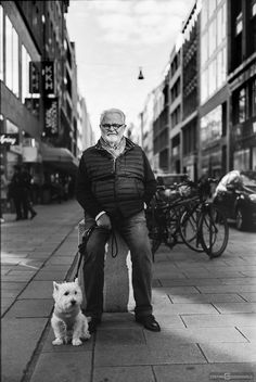 Man with dog - http://www.stefangroenveld.de/2015/man-with-dog/