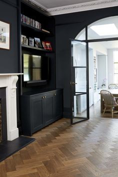 43 Most Popular Family Room Flooring Ideas 43 Most Popular Family Room Flooring Ideas Dayna Erngren For the Home Your homes overall style the location of nbsp hellip ideas for living room Dark Living Rooms, Living Room Paint, My Living Room, Living Room Decor, Modern Living, Small Living, Alcove Ideas Living Room, Dark Wood Floors Living Room, Kitchen Living