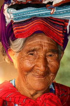 Sweet Maria....Mujer en Panajachel, Sololá, Guatemala by ivan castro guatemala, via Flickr