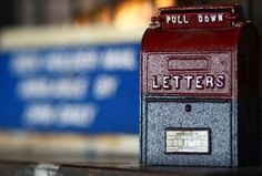 old letters box