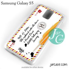 Harry Potter Letter Phone case for samsung galaxy S3/S4/S5