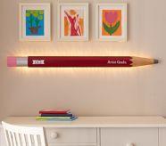 pencil light  study boys room playroom