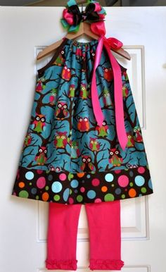 Hmm.  perhaps I should make a pillow case dress to be worn with leggings and a t-shirt for colder weather.