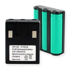 Uniden EXS9950 Replacement Cordless Battery
