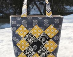 PDF Patchwork Fabric Basket PATTERN mini charm by sweetjane