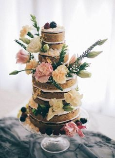 Wedding Cakes from Lael Cakes - MODwedding