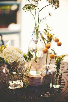 Homespun St. Louis Wedding - Some cute details in yellow and green