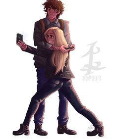 Emma and Jules... Lady midnight. I'm going to start reading it soon!