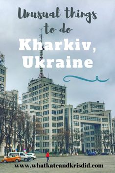 If you are going to visit Kharkiv, there are some great places to visit but also lots of unusual things to do in Kharkiv. In this post, we take you through the Kharkiv attractions and show you what to do there. Stuff To Do, Things To Do, Unusual Things, Amusement Park, Walking Tour, Amazing Architecture, Teaching English, Wild West, Great Places