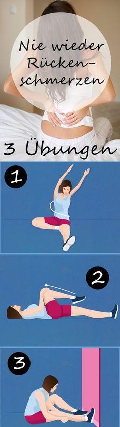 Nie wieder Rückenschmerzen! Was es mit der Osteopathie auf sich hat, wie Sie einen guten Therapeuten finden - plus drei Übungen für den Rücken >>> #correres #deporte #sport #fitness #running