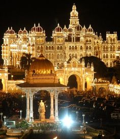 Mysore Palace on Diwali