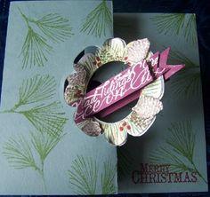 Swing Christmas Card