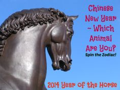 It's the Chinese New Year (year of the Horse). Which animal are you in the Chinese Zodiac?