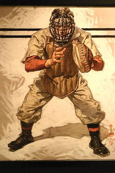 Baseball season coming up...  Cover art by J.C. Leyendecker