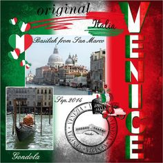 Here my pages made with your loving HSA_TravelToItaly , thanks Eileen lo 3 - July-Aug. 2016 Travel to Italy  Pict. my own , we had a vacation in Italy in Sept. 2014 shadowed a bit alpha is in the kit font - Script