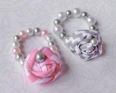 Infant Rosette Bracelet