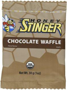 Honey Stinger Waffle Chocolate, 1-Ounce (Pack Of 16) - http://goodvibeorganics.com/honey-stinger-waffle-chocolate-1-ounce-pack-of-16/