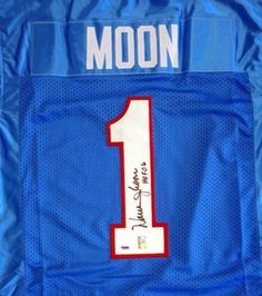 Warren Moon Autographed Oilers Jersey HOF 06 PSA DNA .  139.00. This is an 4a055d324