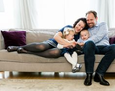 In Home Lifestyle Family Session in San Francisco | Cristin More Photography | Family of Four