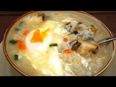 Mushroom soup ( 버섯들깨탕: Beoseot-deulkkae-tang) - YouTube