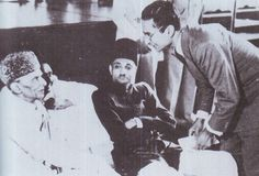 The Founder with Roshan Ali Bhimjee who subsequently founded EFU, Bombay by Doc Kazi #pakistan