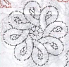 Tape lace crochet pattern great idea for a beading pattern Celtic Patterns, Lace Patterns, Mosaic Patterns, Embroidery Patterns, Quilt Patterns, Crochet Patterns, Longarm Quilting, Hand Quilting, Machine Quilting