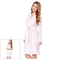 14080fdaee0 Maternity Oh Baby by Motherhood™ Nursing Gown   Robe Set