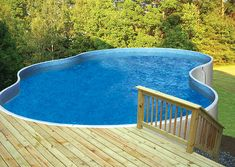 The incredible Metric Series Pool can be installed aboveground, inground, and semi-inground, on a slope or into a hill, fits any backyard and any budget. Best Above Ground Pool, Above Ground Swimming Pools, In Ground Pools, Superior Walls, Blue Haven Pools, Semi Inground Pools, Pool Prices, Pool Kits, Layout