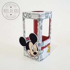 Caixinha para Tubete - Mickey