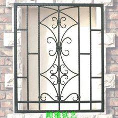Window Grill Design Modern, Balcony Grill Design, Grill Door Design, Door Gate Design, Iron Window Grill, Metal Garden Furniture, Burglar Bars, Door Grill, Welding Design
