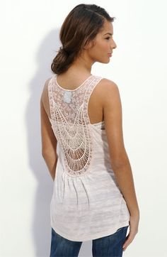 h.i.p. Embellished Back Tank (Juniors) | Nordstrom - StyleSays