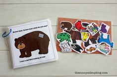 Such a cute idea for toddlers learning colors and animals.