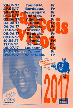 """""""Oddities, clumsiness and dogs"""": the mischievous output of designer Félicité Landrivon Graphic Design Posters, Graphic Design Typography, Branding Design, Print Layout, Layout Design, Poster Layout, Profolio Design, Simple Typography, Japanese Typography"""