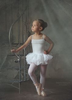 Cute young confident Ballerina
