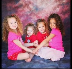 The haschak sisters when they were little. Look how tall they have grown now and they will be my girls forever 4 Sisters, Sisters Forever, Little Sisters, Sister Pictures, Cool Pictures, Hashtag Sisters, Sister Songs, Kid Ink, Youtube Stars