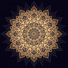 Luxury Mandala With Golden Arabesque Pattern Arabic Islamic East Style Zen Doodle Patterns, Mandala Pattern, Mandala Design, Pattern Art, Doodle Borders, Doodle Doodle, Sharpie Art, Sharpie Doodles, Islamic Art Pattern